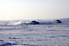 零下35度低温 满洲里冰雪体验奥迪全系