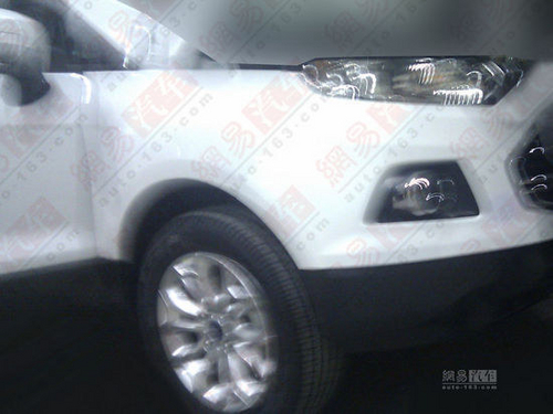 配1.0T动力 福特Ecosport国内谍照曝光