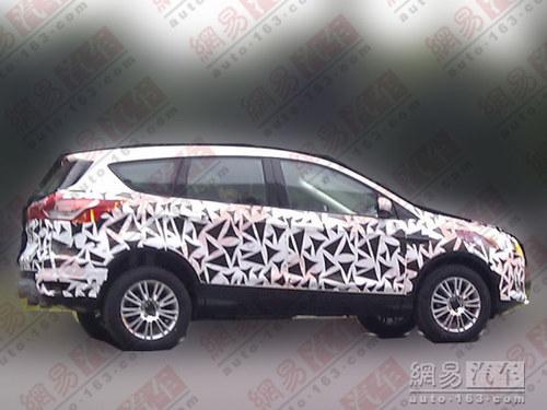 2013年在华投产 全新福特KUGA现身国内