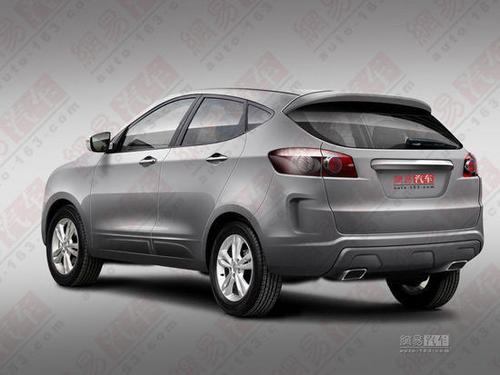 预计明年初上市 一汽奔腾SUV量产展望