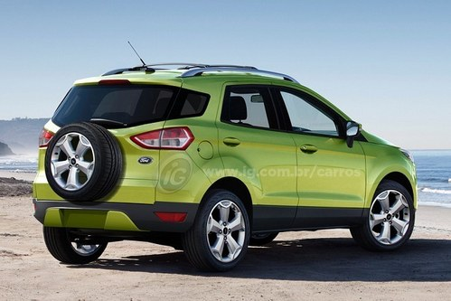 与嘉年华同平台 福特Ecosport年底上市