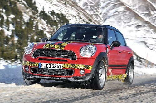 激进分子!试Mini Countryman A114 JCW