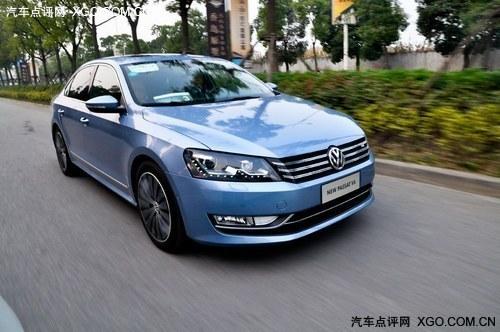 排头兵 深度试驾上海大众新帕萨特V6