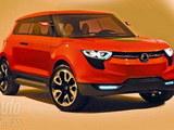 或2013年上市 双龙紧凑型SUV亮相日内瓦