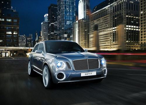 彰显经典与时尚 宾利推出豪华SUV概念车