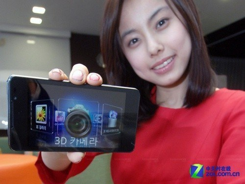 3D浏览GoogleEarth LG推出擎天柱手机