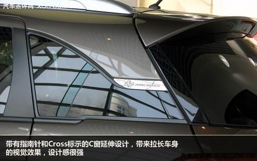 抢滩登陆 雪铁龙C4 Aircross新车实拍