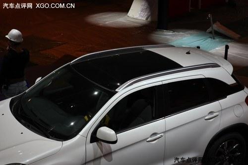 探馆北京车展 雪铁龙C4 AIRCROSS现身