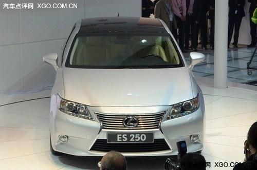 2012北京车展 雷克萨斯新ES250全球首发