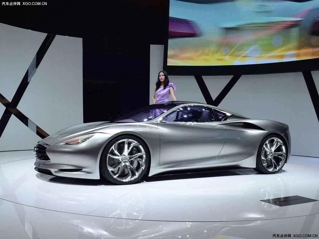 2012北京车展 英菲尼迪概念车亚洲首发高清图片