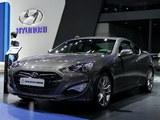 2012北京车展 现代新款劳恩斯酷派亮相