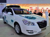 2012北京车展 风神S30 EV电动车亮相