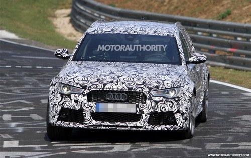 披着羊皮的狼 新款奥迪RS6旅行车曝光