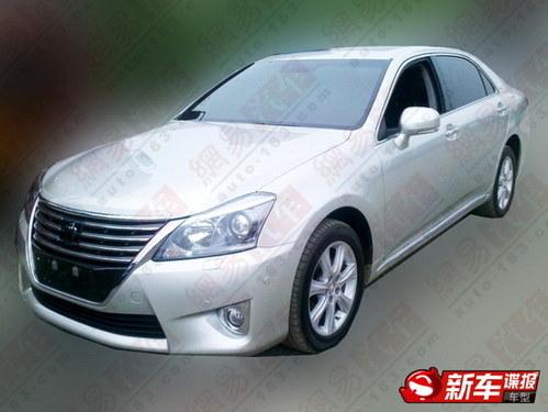 下半年推出 丰田改款皇冠无伪照曝光