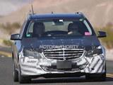 明年发布 奔驰改款E级旅行版谍照曝光