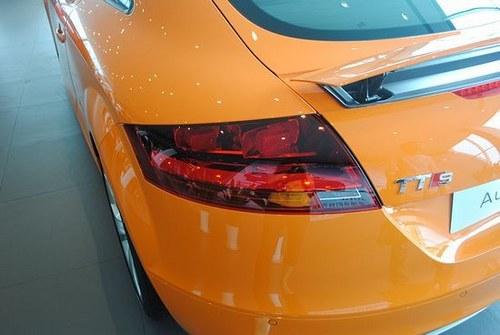 橙色风暴来袭 奥迪 TTS新车到店实拍