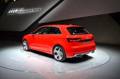 2012巴黎车展 奥迪新一代S3首发亮相