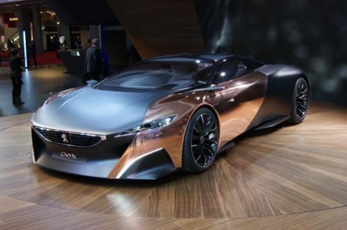 2012巴黎车展 标致Onyx概念车正式发布