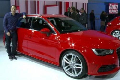 2012巴黎车展 奥迪全新A3五门版首发