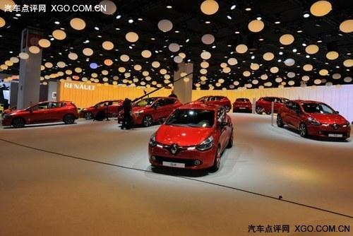 2012巴黎车展 雷诺全新Clio正式亮相
