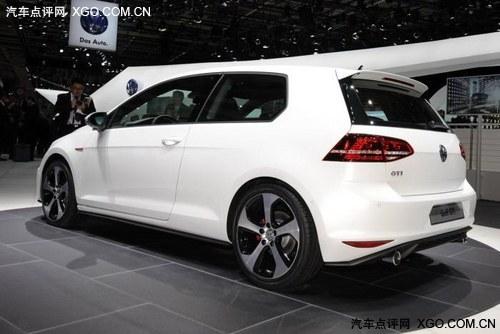 2012巴黎车展 新高尔夫GTI概念车发布