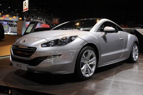 2012巴黎车展 标致全新RCZ正式首发亮相