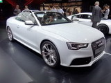2012巴黎车展 奥迪RS5敞篷版车型发布
