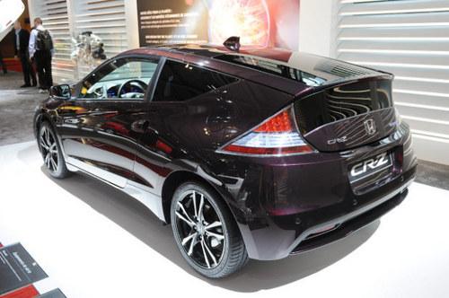 新增运动模式 本田改款CR-Z轿跑发布
