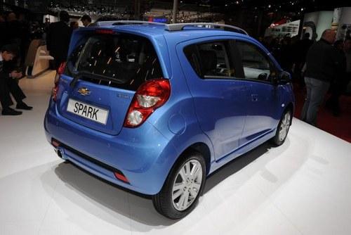 2012巴黎车展 雪佛兰改款Spark正式发布