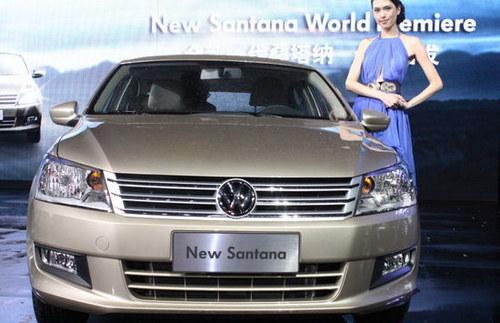 12月上市 大众全新一代桑塔纳德国首发