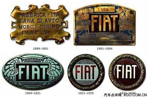 历史上的菲亚特logo高清图片