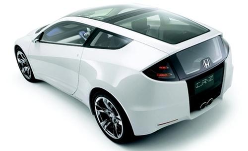 本田油电混合动力车-抗衡普锐斯 本田推CR Z油电混合动力车高清图片