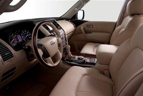 配备5.6L直喷V8 英菲尼迪全新QX56官图