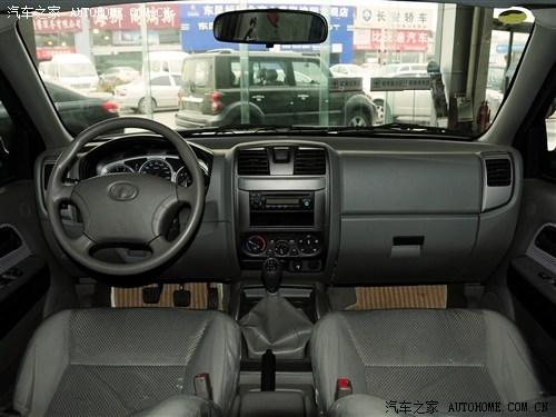 长城 长城汽车 风骏3 2011款 2.4L公务版 豪华型 两驱小双排