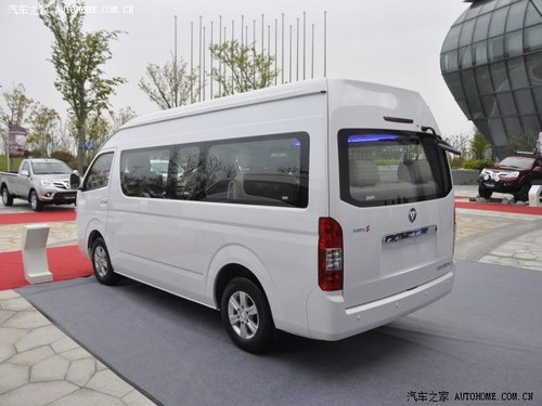 福田福田汽车蒙派克S2013缓 2.8T新干线豪华型 柴油长轴