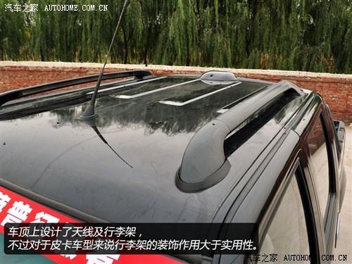 福田 福田汽车 萨普 2011款 2.8T四驱征服者Z7