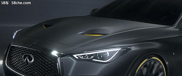 英菲尼迪Project Black S原型车将亮相