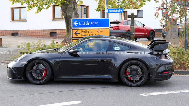 保时捷911 GT3最新谍照 或于2019年亮相