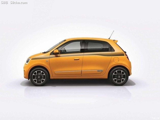雷诺新款Twingo官图发布 日内瓦车展亮相