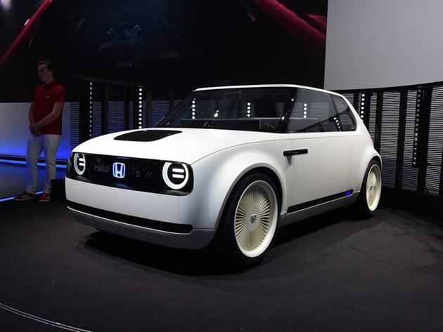 本田Urban EV原型车 将于日内瓦车展首发