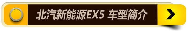 北汽新能源EX5购车手册 推荐顶配悦领版
