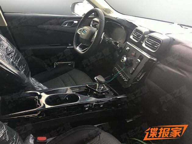 领克03 EV谍照曝光 与普通版车型相似