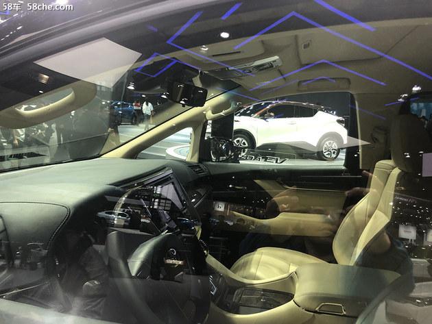 丰田威尔法双擎亮相上海车展 顶级保姆车