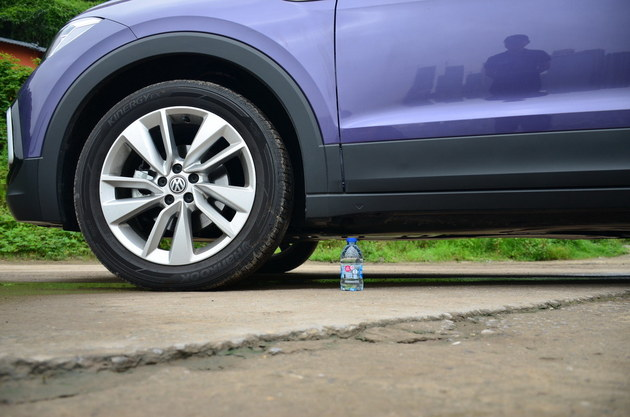 大众品牌最便宜的小型SUV 试驾T-Cross