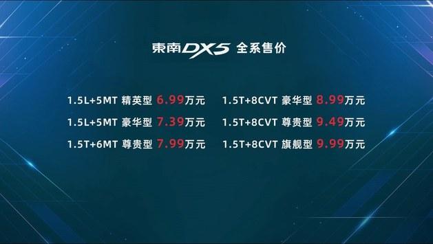驾驶感很轻快 试驾东南DX5  1.5T旗舰型