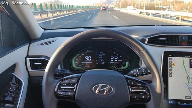 轻松畅快的高速体验 北现新一代ix25试驾