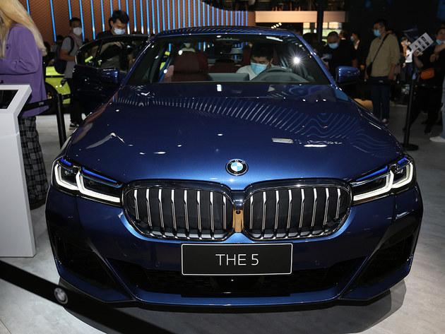 2020北京车展 实拍2021款宝马5系