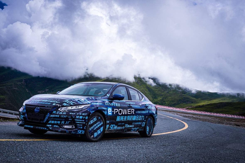 e-POWER首款车型测试