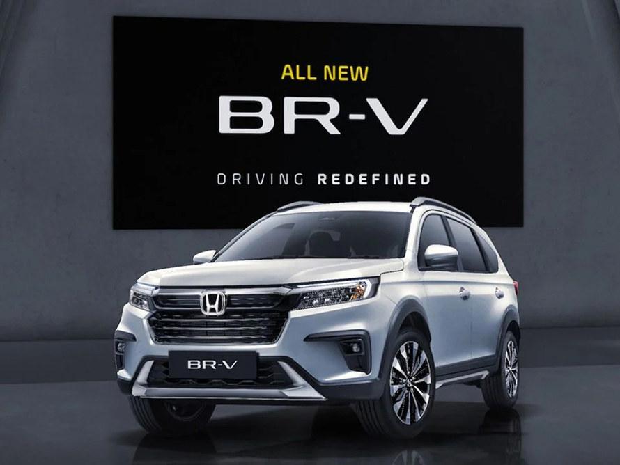 2022款本田BR-V正式亮相
